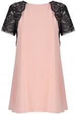 TFNC Lava Pale Pink Lace Swing Dress