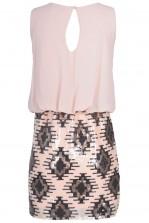 TFNC Michelle Diamond Embellished Dress