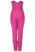 TFNC Staley Pink Bandeau Jumpsuit