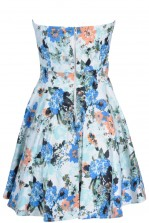 TFNC Geri Floral Bandeau Dress