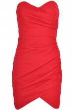 TFNC Thai Bodycon Bandeau Dress