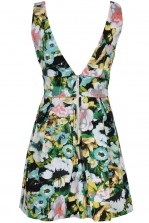 TFNC Andy Floral Fit and Flare Dress