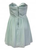 TFNC Anabella Mint Chiffon Dress
