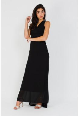 TFNC Ysabella Black Maxi Dress
