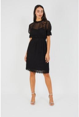 TFNC Lidi Black Midi Dress