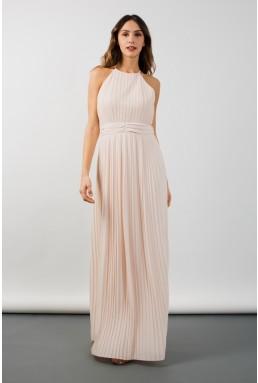 TFNC Serene Nude Maxi Dress