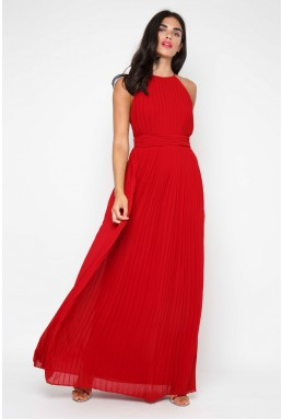 TFNC Serene Winter Wine Maxi Dress