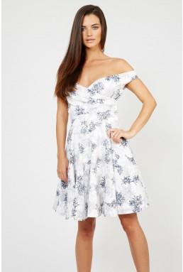 TFNC Sandera White Dress