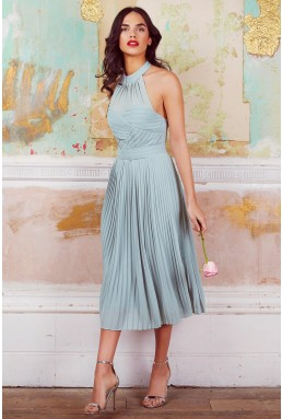TFNC Samantha Green Lily Midi Dress