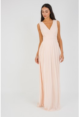 TFNC Stella Nude Maxi Dress