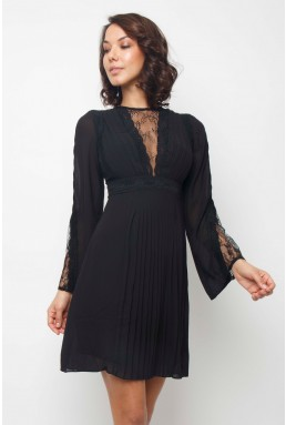TFNC Pascle Black Mini Dress