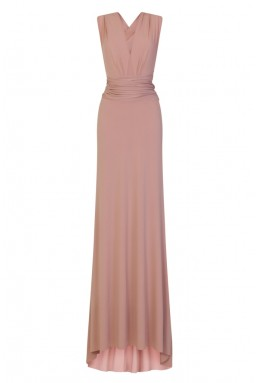 TFNC Multi Way Mauve Maxi Dress
