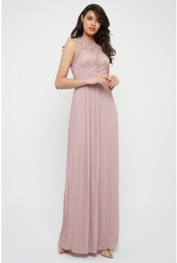 TFNC Naiara Pale Mauve Maxi Dress