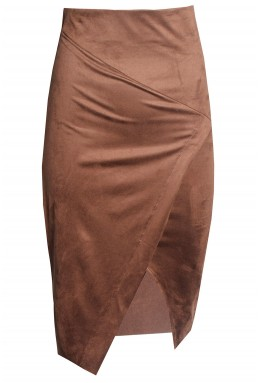 TFNC Leena Tan Midi Skirt