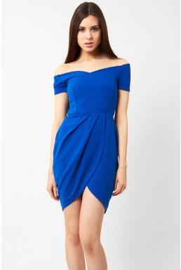 TFNC Carel Blue Off Shoulder Dress
