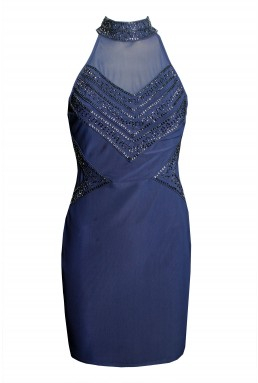 TFNC Rebecca Navy Dress