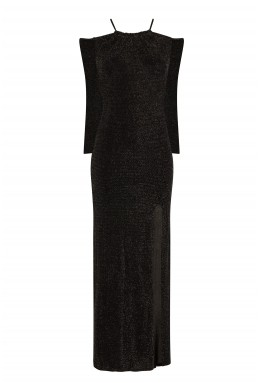 TFNC Alysee Black Maxi Dress