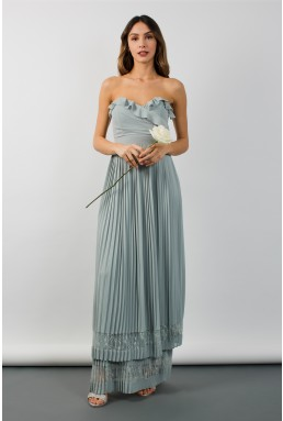 TFNC Glory Green Lily Maxi Dress