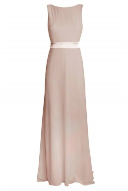 TFNC Halannah Whisper Pink Maxi Dress
