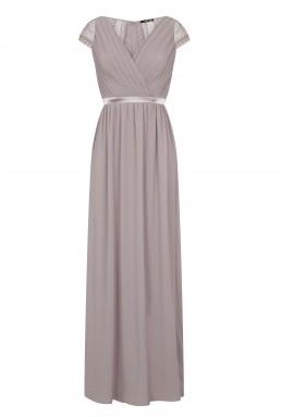 TFNC Hollyn Lavender Fog Maxi Dress