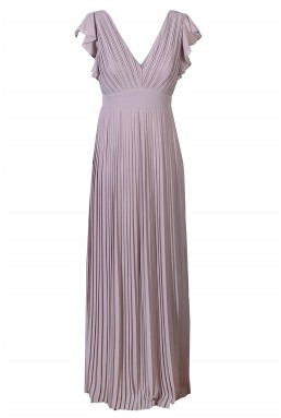 TFNC Lyon Grey Maxi Dress