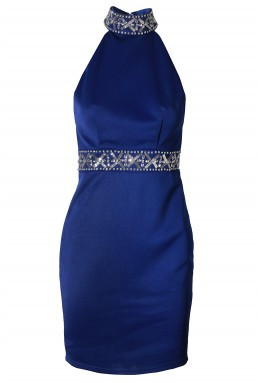 TFNC Celine Blue Dress