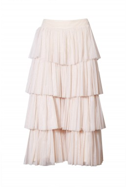 Lace & Beads Aston Nude Culottes