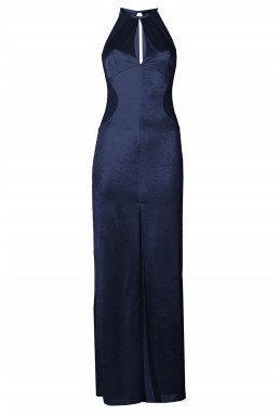TFNC Abbie Navy Maxi Dress