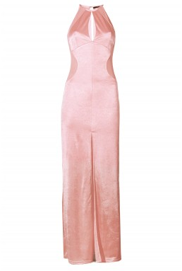 TFNC Abbie Nude Maxi Dress