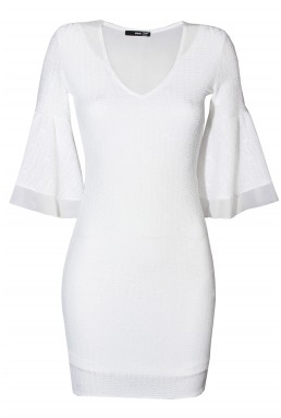 TFNC Belle White Dress