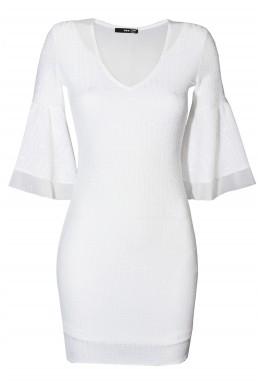 TFNC Belle White Dress