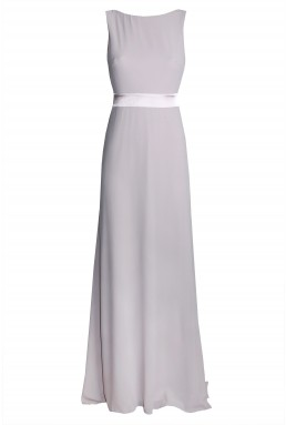 TFNC Halannah Grey Maxi Dress