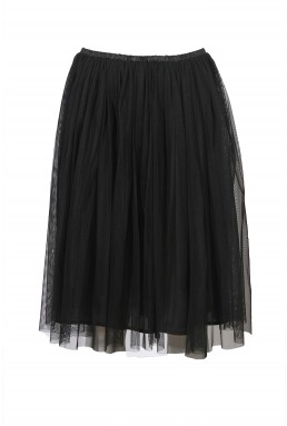 Lace & Beads Val Black Skirt