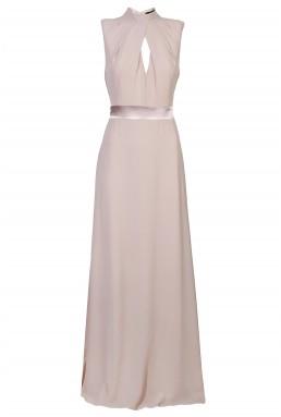 TFNC Kandi Taupe Maxi Dress