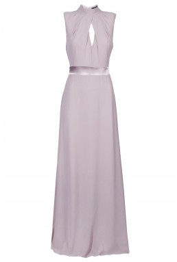 TFNC Kandi Grey Maxi Dress