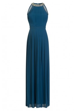 TFNC Rosie Teal Maxi Dress