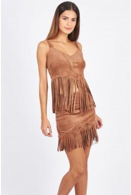TFNC Seleen Tan Skirt