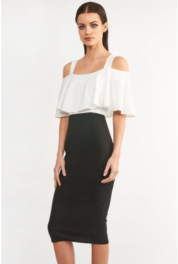 TFNC Ariel Black Bodycon Dress