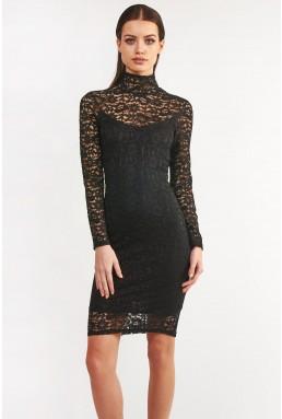TFNC Rosalie Black Bodycon Dress