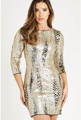 TFNC Paris Mayfair Multi Dress
