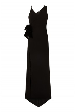 TFNC Calep Black Maxi Dress