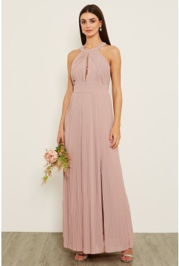 TFNC Prague Pale Mauve Maxi Dress