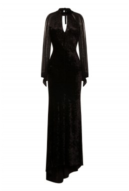 TFNC Nesley Black Maxi Dress