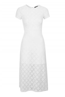 TFNC Alice White Dress