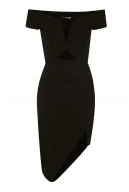 TFNC Laura Black Bodycon Dress