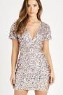 TFNC Hanisa Sequin Mini Dress