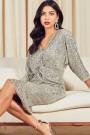 TFNC Veda Sequin Midi Dress
