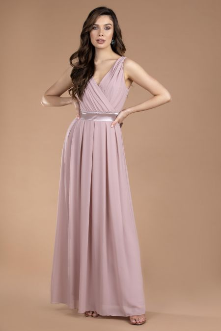 TFNC Kily Pale Mauve Maxi Dress