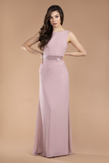 TFNC Halannah Pale Mauve Maxi Dress
