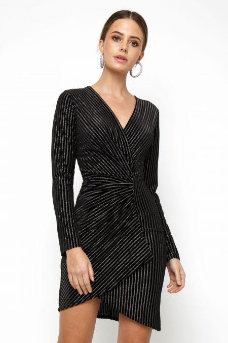 TFNC Nukka Black Mini Dress